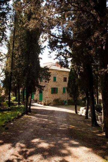 02 Villa Bosco vanaf het bospad