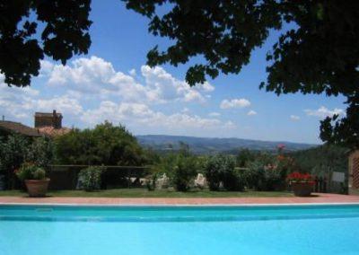 03 Petrognano vanaf zwembad