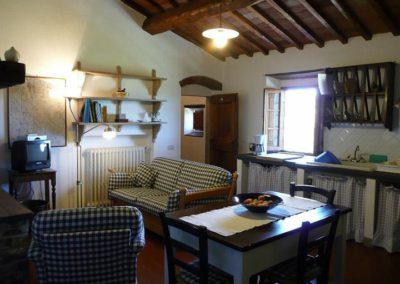 04 Casa Ercole Alda zitkamer keuken