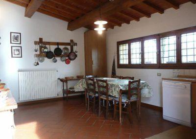 06 il Borgo Casale 1 keuken eethoek