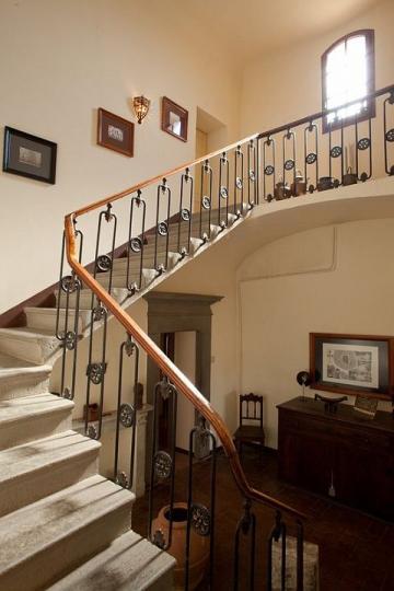 10 Villa Bosco trappenhuis