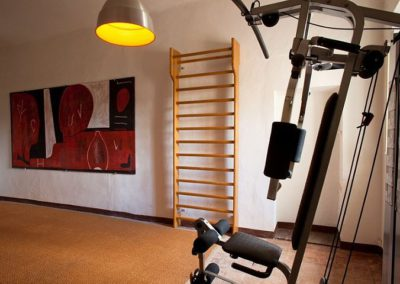 16 Villa Bosco the gym