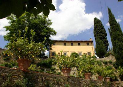 27 Il Borgo vanaf tuin eigenaren