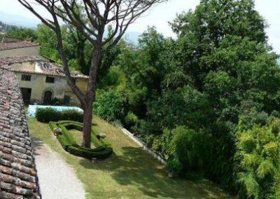 Montazzi tuin vanuit toren
