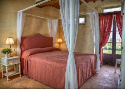 08 Il Borgo Cortona slaapkamer 1