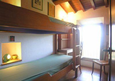 10 Cinque Terre slaapkamer boven stapelbed
