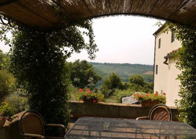 11 Castelvecchio zitje Camino Rosa en Volte
