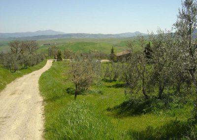 13 il Pratone toegangsweg