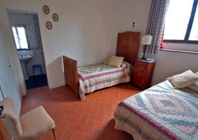 13A Podere Fulvia 2x1 p slaapkamer