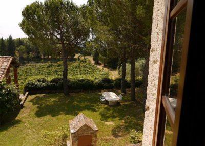 21 Montechiarone tuin vanaf loggia