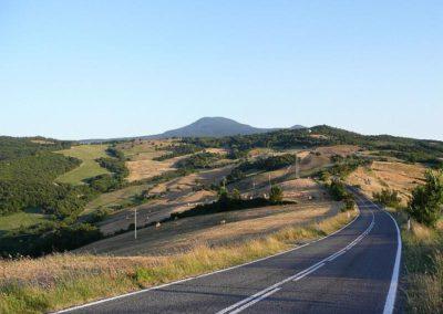 23 Valle del Sole weg naar Vivo d'Orcia