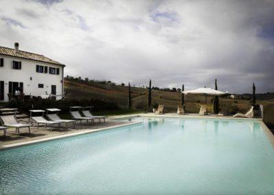 02a Vanaf het zwembad Villa di Seta