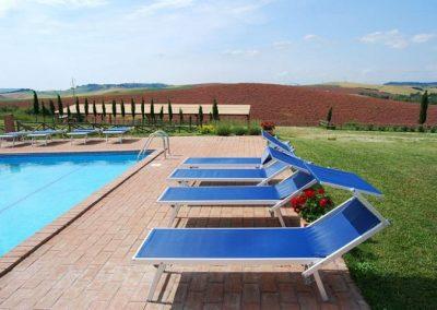 06 UItzicht vanaf zwembad Agriturismo Silenzio