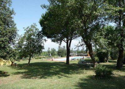 12 Poggio al Chiuso tuin en zwembad