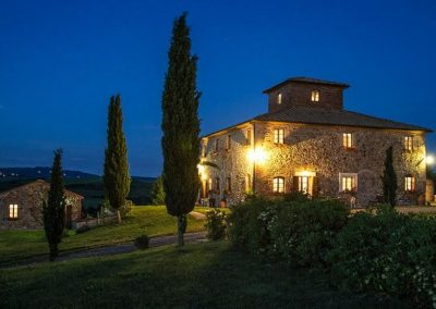 By night Agriturismo Silenzio