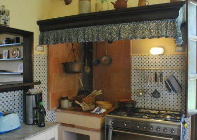 09. Hoek met fornuis - Villa Nonni
