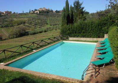 03. Tignano Zwembad met uitzicht op Barberino