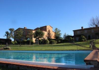 05 Il Brogo Cortona - over t zwembad