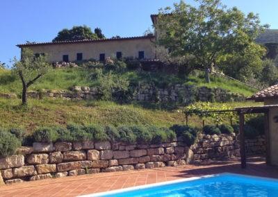 05 Villa Palombara Vanaf het zwembad