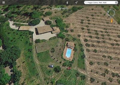 07 Villa Palombara Vanuit de lucht