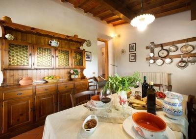 10 Il Borgo Casale 1 eetkamer