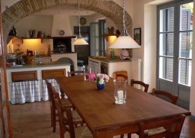 10 Villa Palombara Eetgedeelte