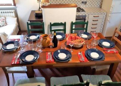 19 Cinqueterre gedekte tafel voor 8p