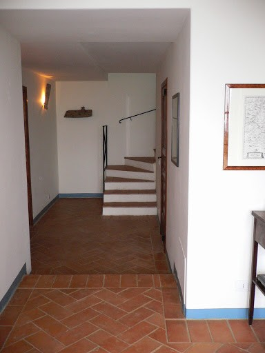 20 Villa Palombara Trap naar de toren