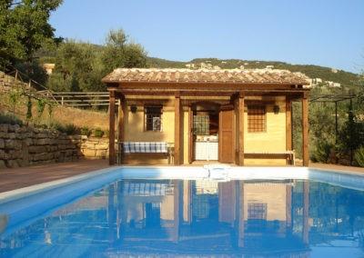 22 Villa Palombara Huisje bij zwembad