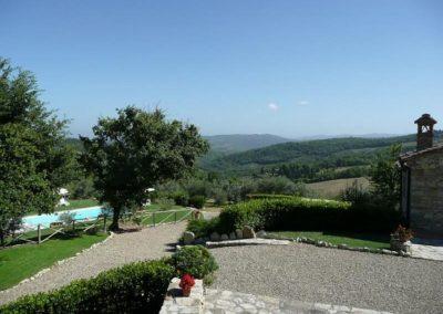 25 San Silvestro Monna Lisa terrein en uitzicht