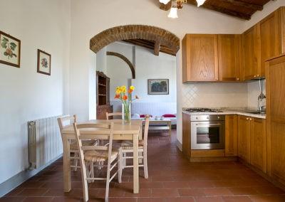 29 Le Macine Ninfee keuken woonkamer
