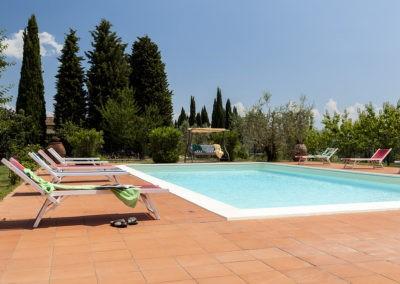 5A Torriano bij het zwembad