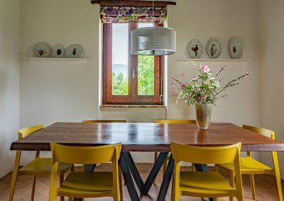 11. Kitchen dining area