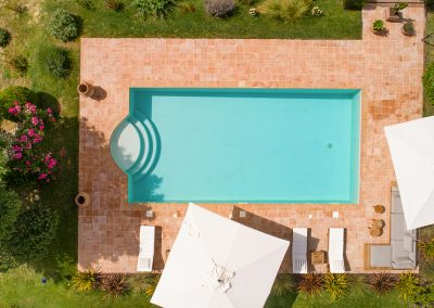 4. The pool from above