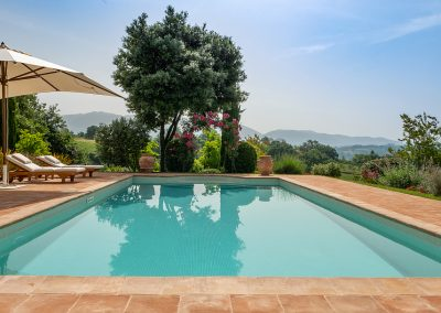 7. View from the pool Villa